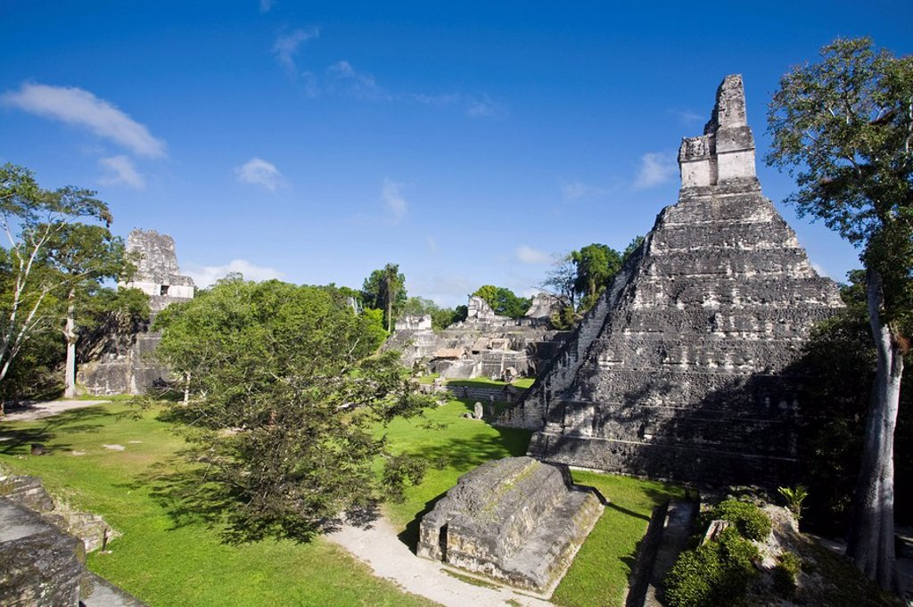 Stock Photo: 1609-25085 Guatemala, El Peten, Tikal