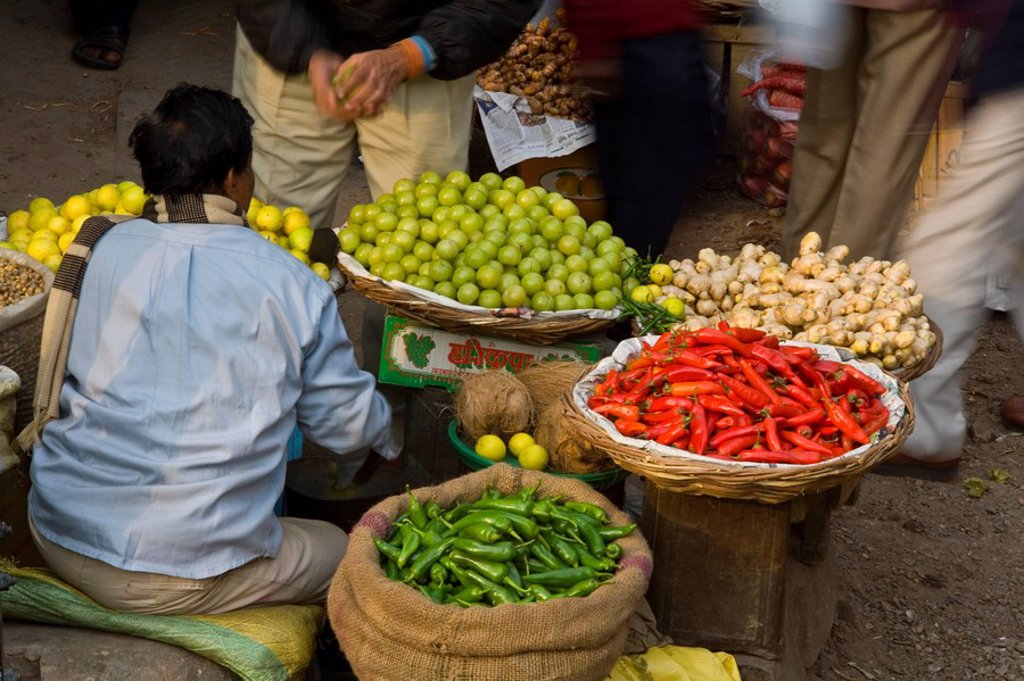 Stock Photo: 1609-25155 Chandni Chowk market, Delhi, India
