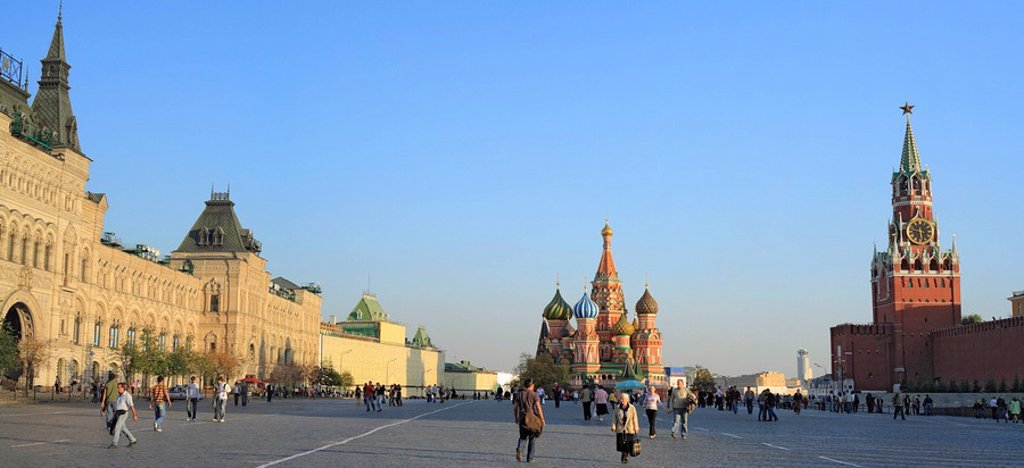 Stock Photo: 1609-26028 Red square, Moscow, Russia
