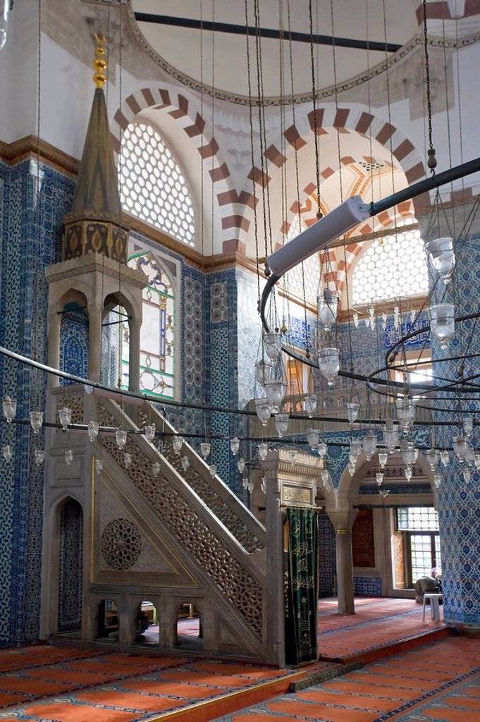Stock Photo: 1609-26158 Rusten Pasa Camii Mosque of Rustem Pasha Istanbul, Turkey