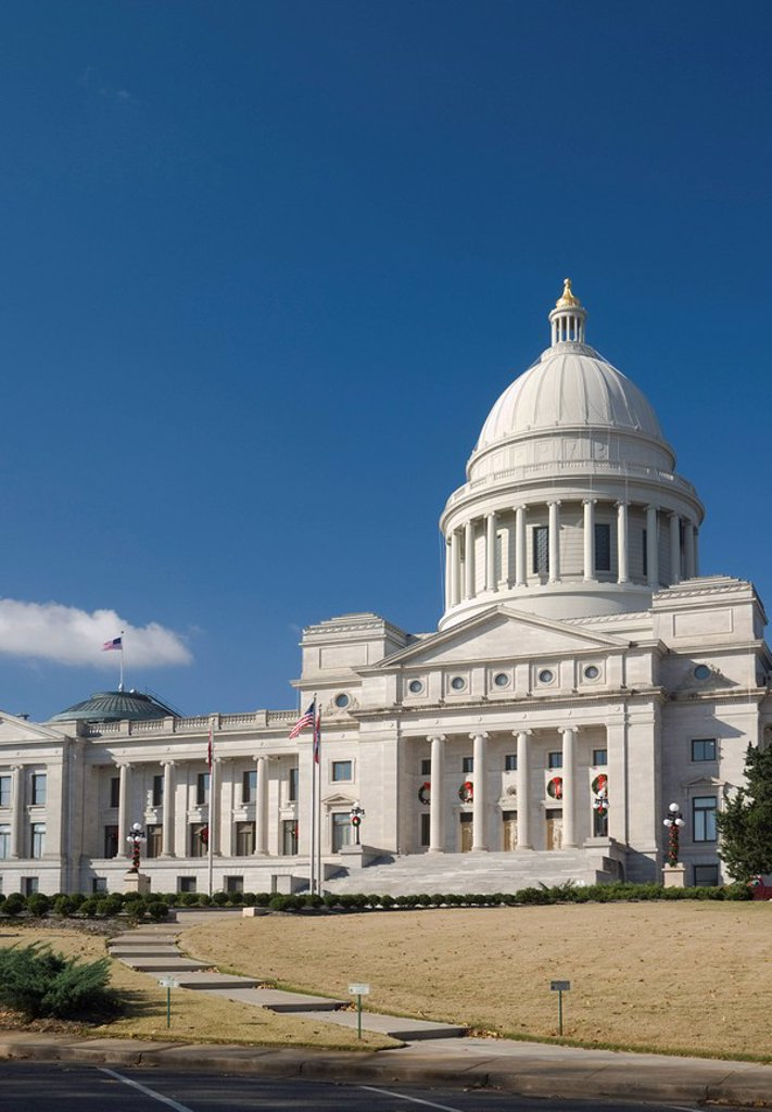 Stock Photo: 1609-26596 Arkansas, Little Rock, State Capitol