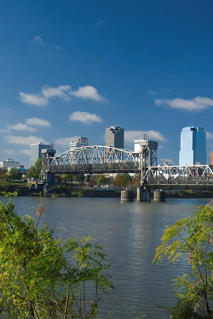 Stock Photo: 1609-26600 Arkansas, Little Rock, Arkansas River