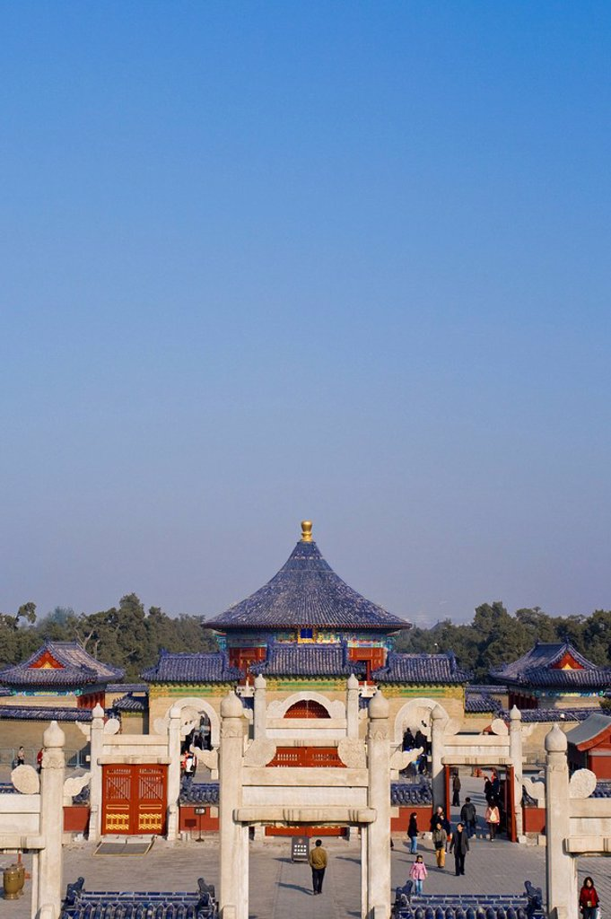 Stock Photo: 1609-27437 Temple of Heaven, Beijing, China