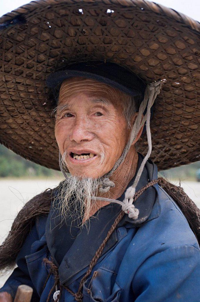 Stock Photo: 1609-27590 Yao Village of Dazhai, Longsheng, Guangxi Province, China