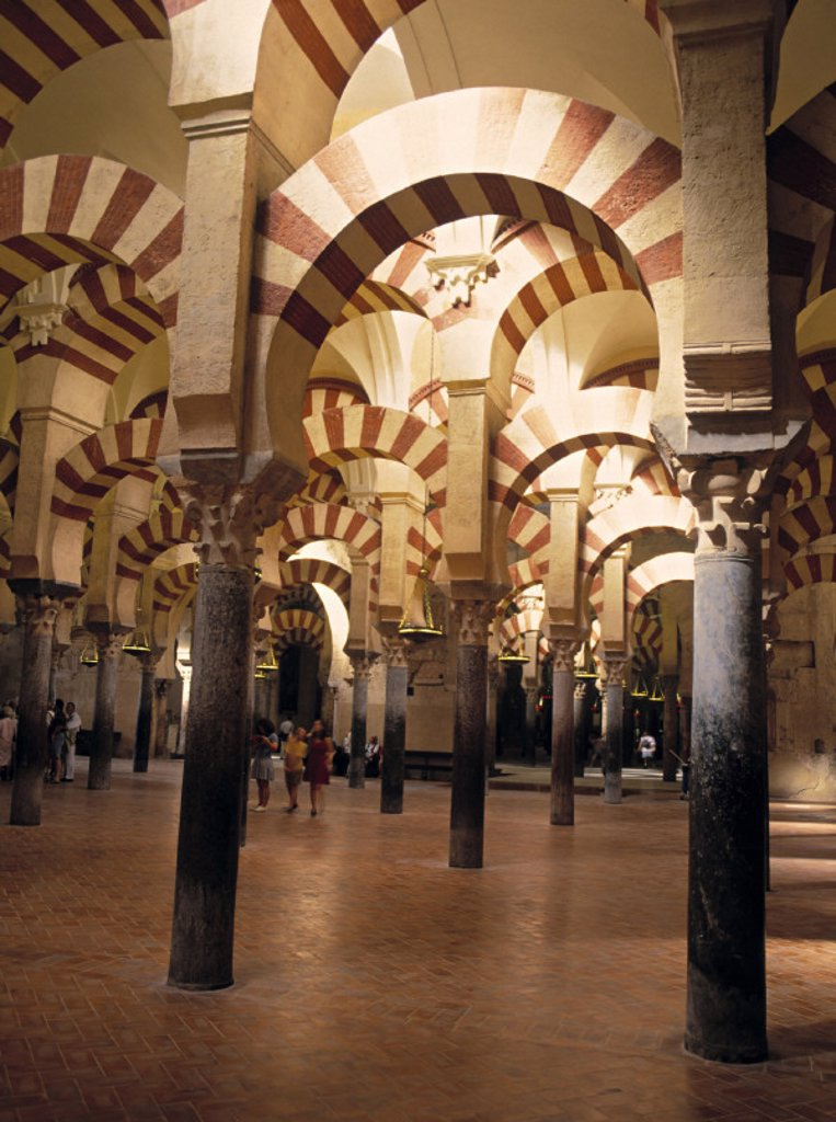 Stock Photo: 1609-3265 Mezquita, Cordoba, Spain