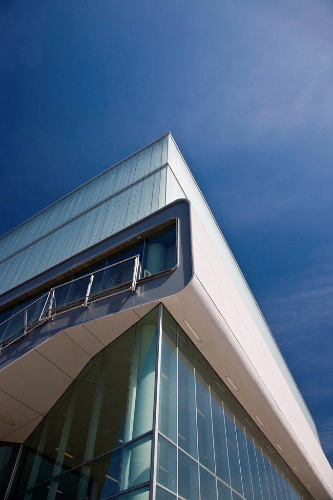 USA, Massachusetts, Boston, Waterfront, Institute of Contemporary Art : Stock Photo