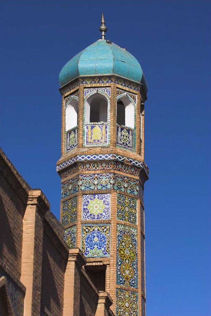 Stock Photo: 1609-33532 Afghanistan, Herat, Minaret of Friday Mosque or Masjet-eJam