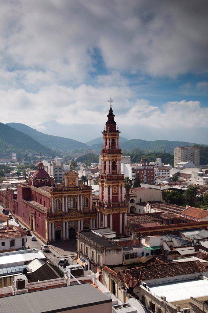 Argentina, Salta Province, Salta, Iglesia San Francisco : Stock Photo