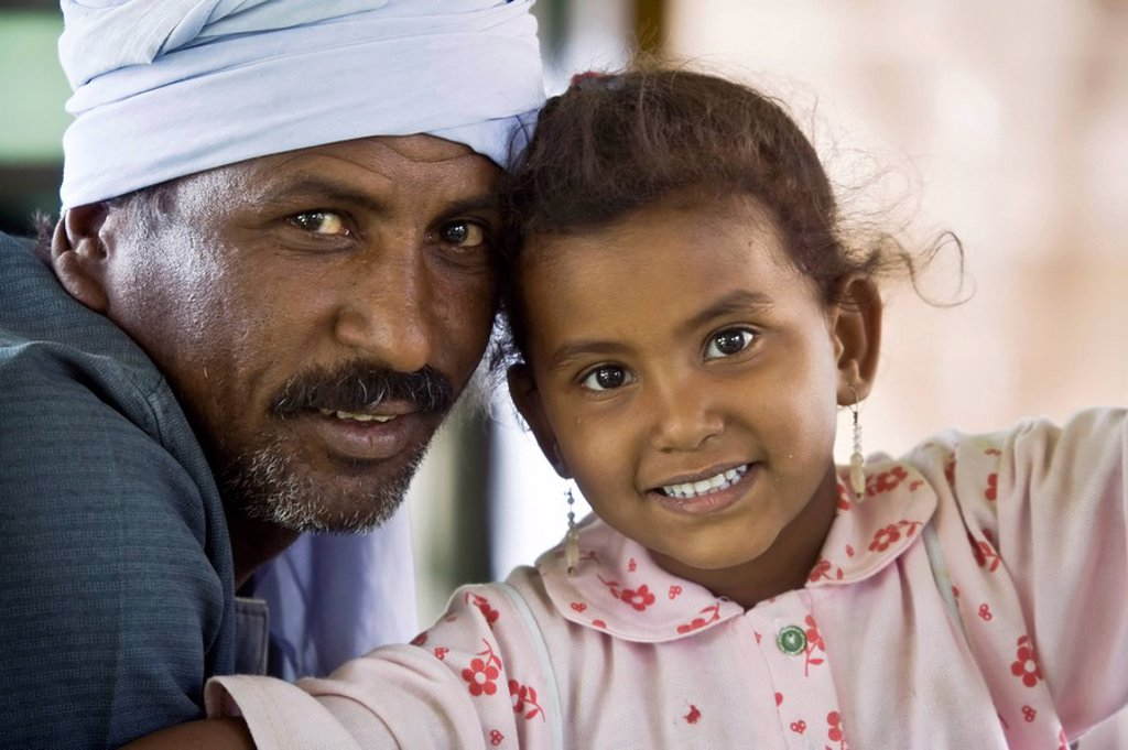 Stock Photo: 1609-35583 Egypt, Local People of the Train near Luxor