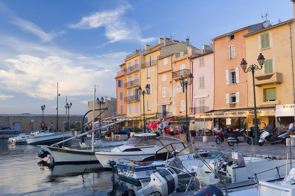 St Topez, Cote D´Azur, France : Stock Photo