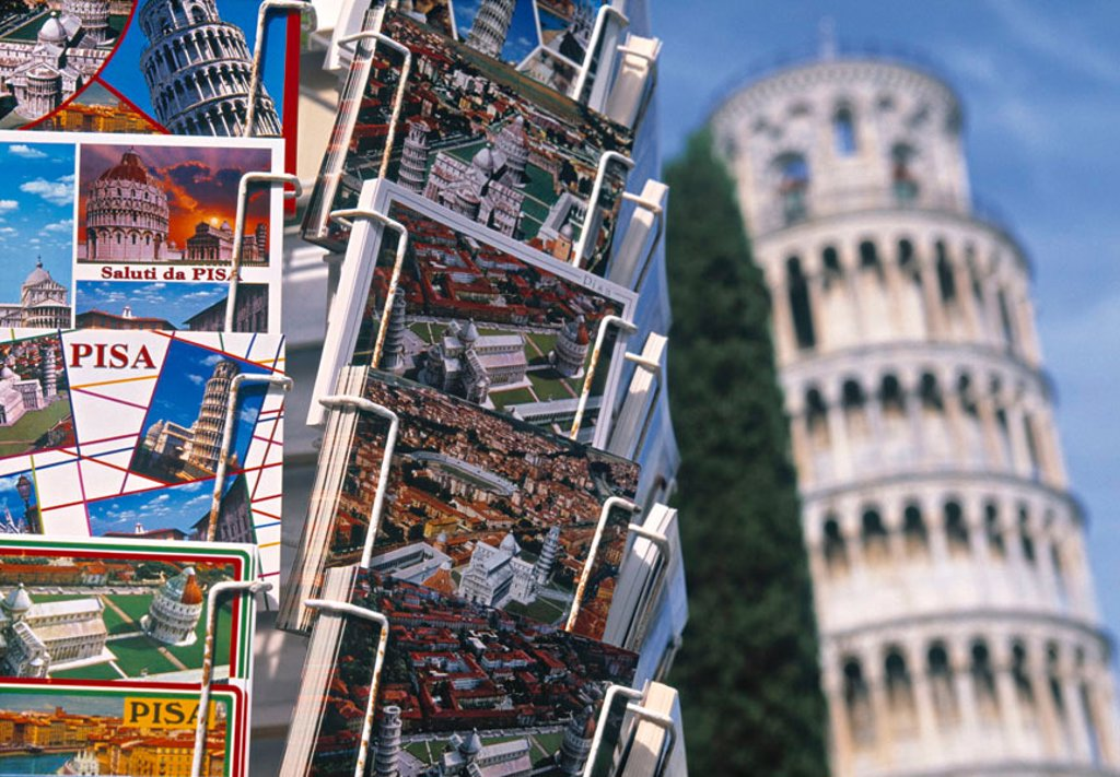 Stock Photo: 1609-38123 Leaning Tower of Pisa, Pisa, Tuscany, Italy