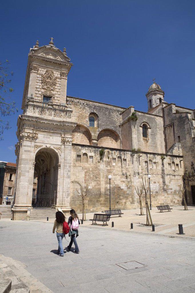 Stock Photo: 1609-38340 Duomo, Sassari, Sardinia, Italy