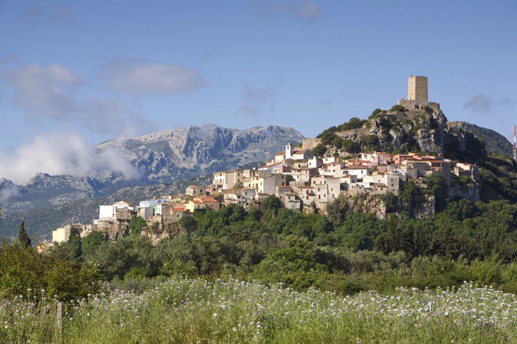 Stock Photo: 1609-38363 Posada, Sardinia, Italy