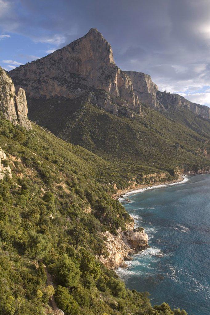 Stock Photo: 1609-38370 Punta Pedra Longa, Golfo di Orosei, Sardinia, Italy