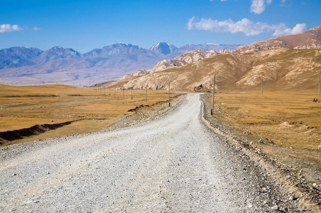 Kyrgyzstan, Torugart Pass : Stock Photo