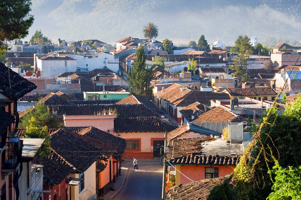 Stock Photo: 1609-39009 San Cristobal de Las Casas, Chiapas Province, Mexico