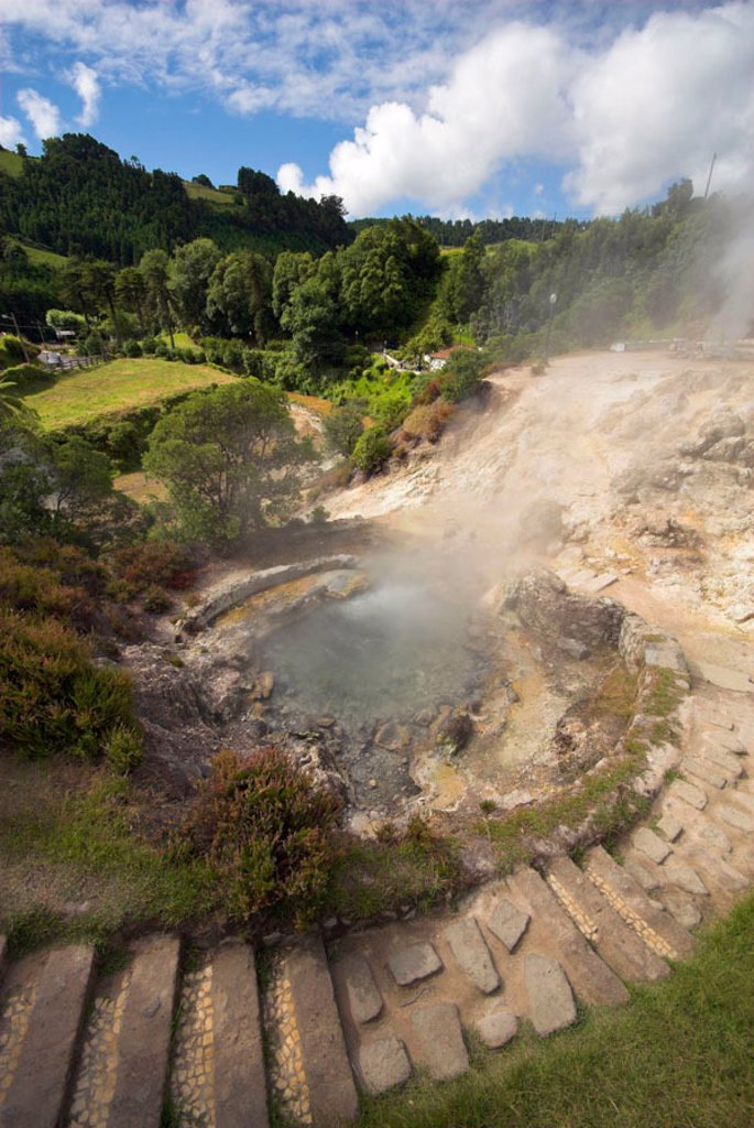 Stock Photo: 1609-39664 Hot Springs, Furnas, Sao Miguel Island, Azores, Portugal