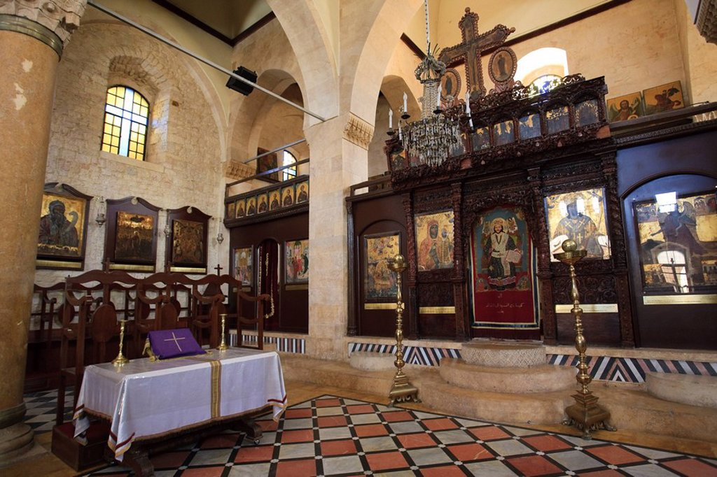 Stock Photo: 1609-40198 Syria, Aleppo, The Old Town UNESCO Site, Greek Orthodox Church