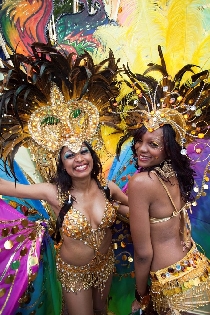 England, London, Notting Hill Carnival : Stock Photo