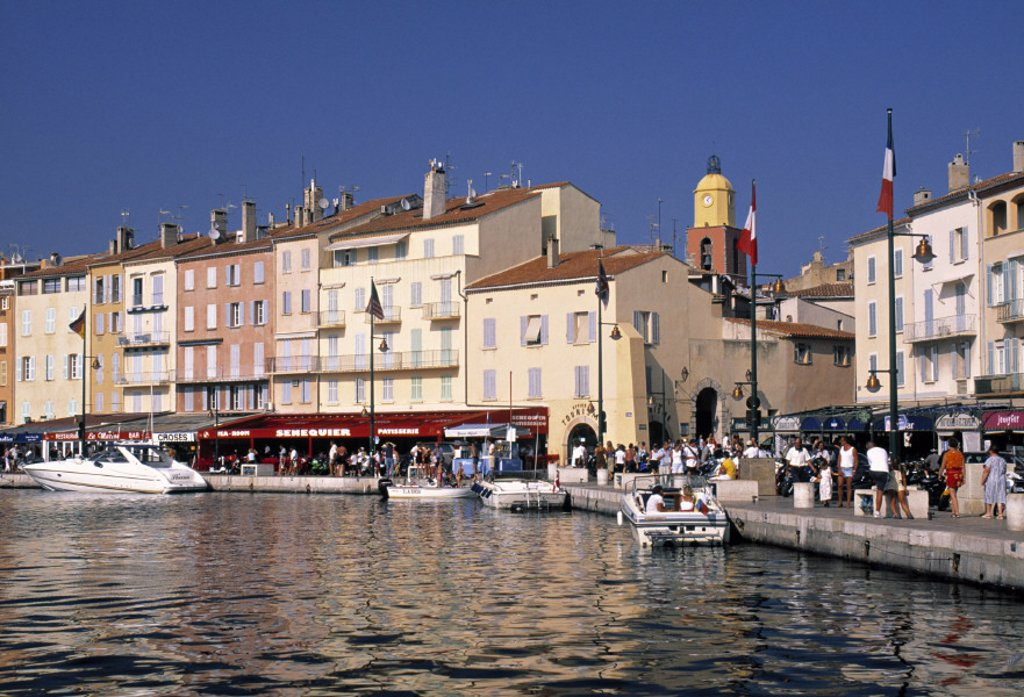 Ancien Bassin, St. Tropez, Cote D´Azur, France : Stock Photo