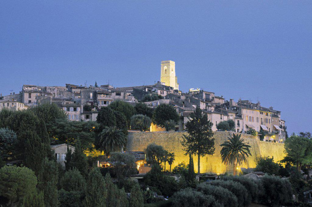 St. Paul de Vence, Cote D´Azur, France : Stock Photo