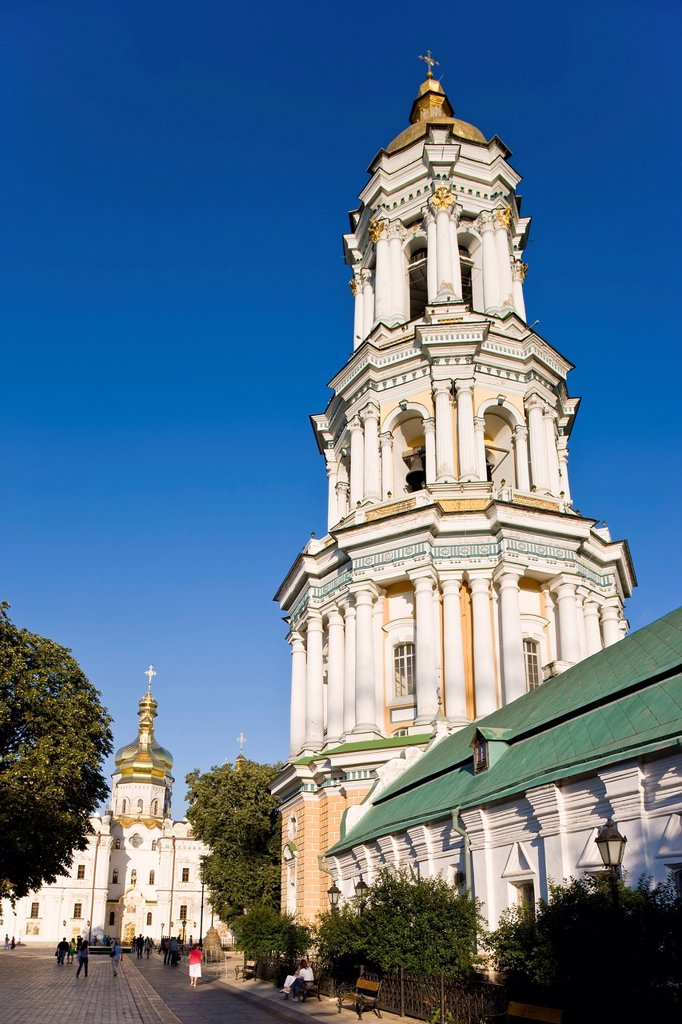 Stock Photo: 1609-43249 Kiev pechersk lavra Cave monastery in Kyiv, Kiev, Ukraine