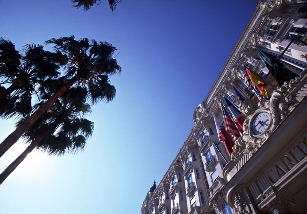 Carlton Hotel, Cannes, Cote D´Azur, France : Stock Photo