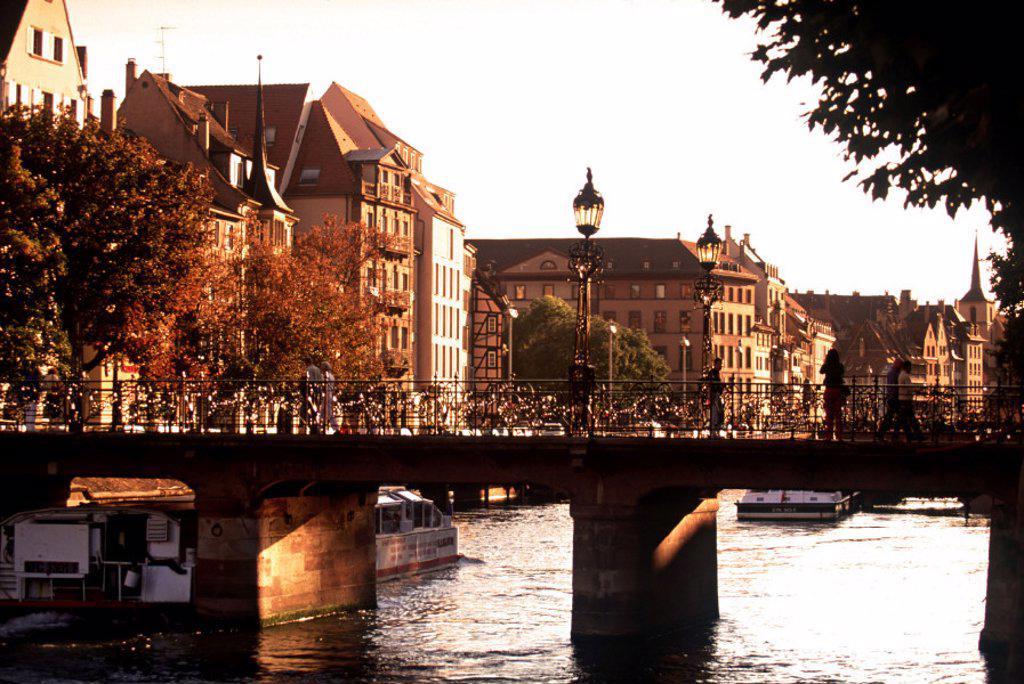 Stock Photo: 1609-4555 Strasbourg, Alsace, France