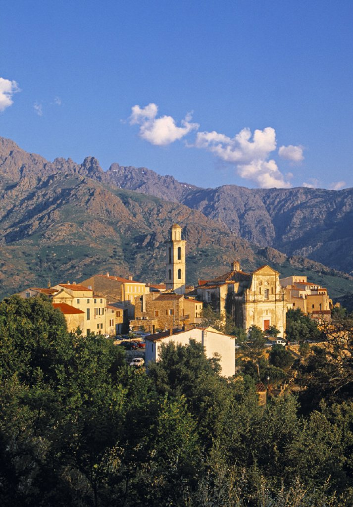Stock Photo: 1609-4671 Montemaggiore, Corsica, France