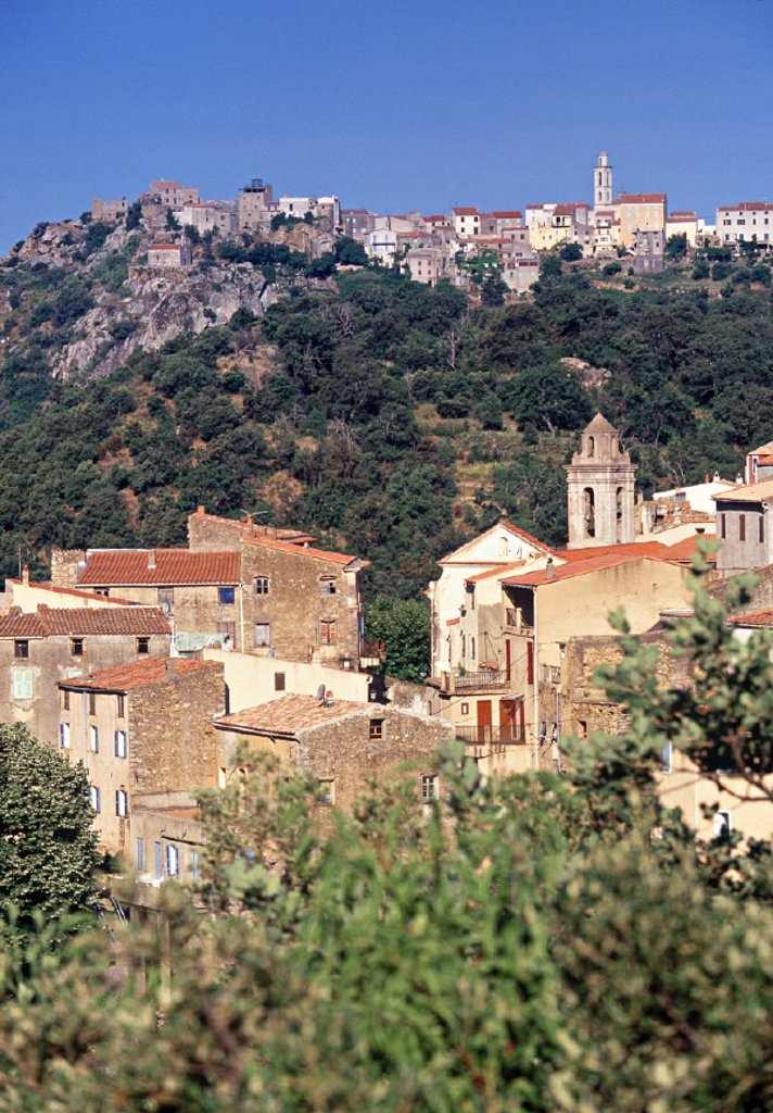 Stock Photo: 1609-4704 Cassano, Corsica, France