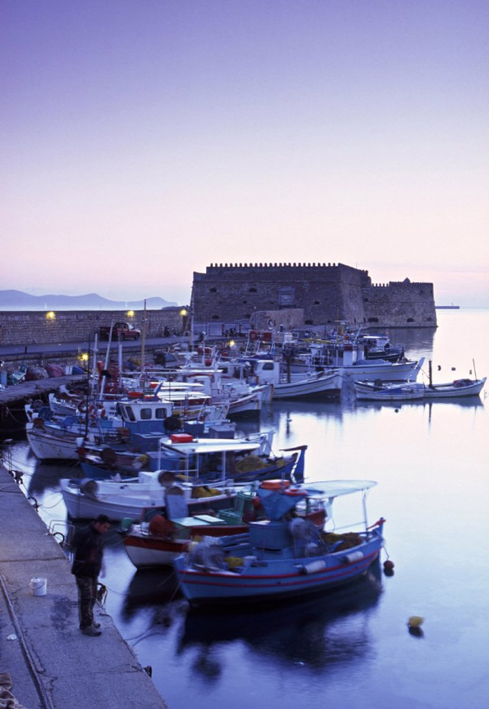 Iraklion (Heraklion), Crete, Greece : Stock Photo