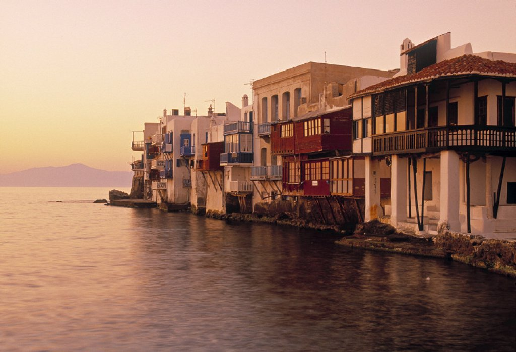 Mykonos Town, Mykonos, Greece : Stock Photo