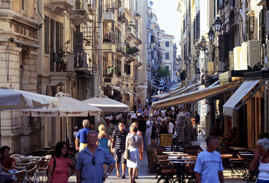 Stock Photo: 1609-5135 Corfu Town, Corfu, Greece