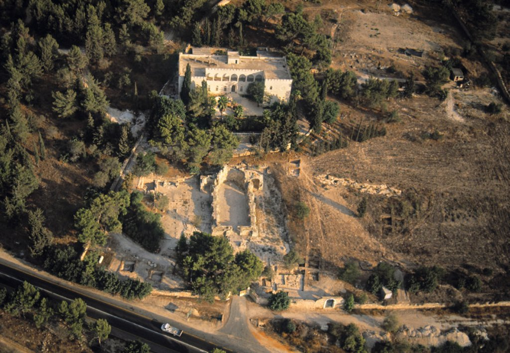 Emmaus (nr. Latrun), Israel : Stock Photo