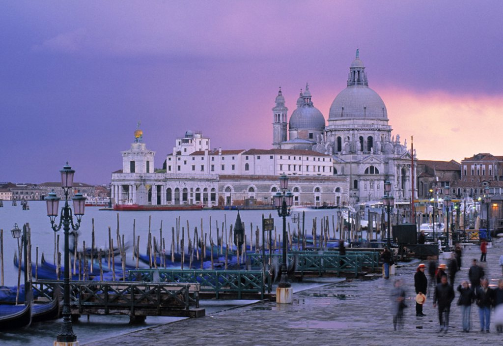 Stock Photo: 1609-6558 Santa Maria Della Salute, St. Mark´s Square, Venice, Italy