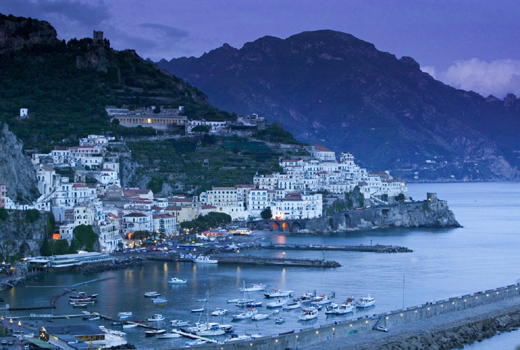 Stock Photo: 1609-7056 Amalfi, Amalfi Coast, Italy