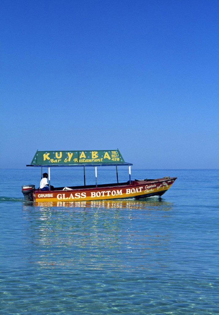 Long Bay, Negril, Jamaica : Stock Photo