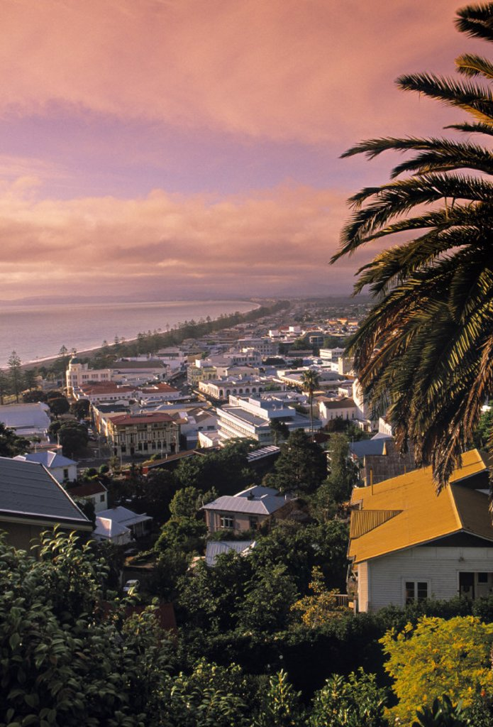 Napier, Hawkes Bay, North Island, New Zealand : Stock Photo
