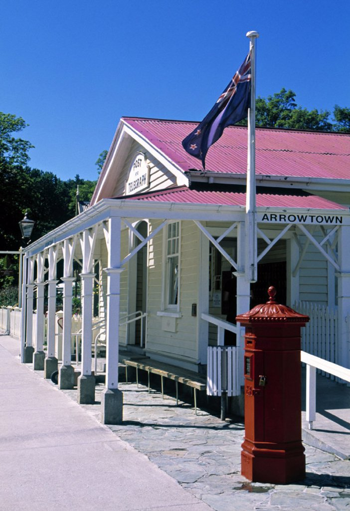 Stock Photo: 1609-8589 Arrow Town, Otago, South Island, New Zealand