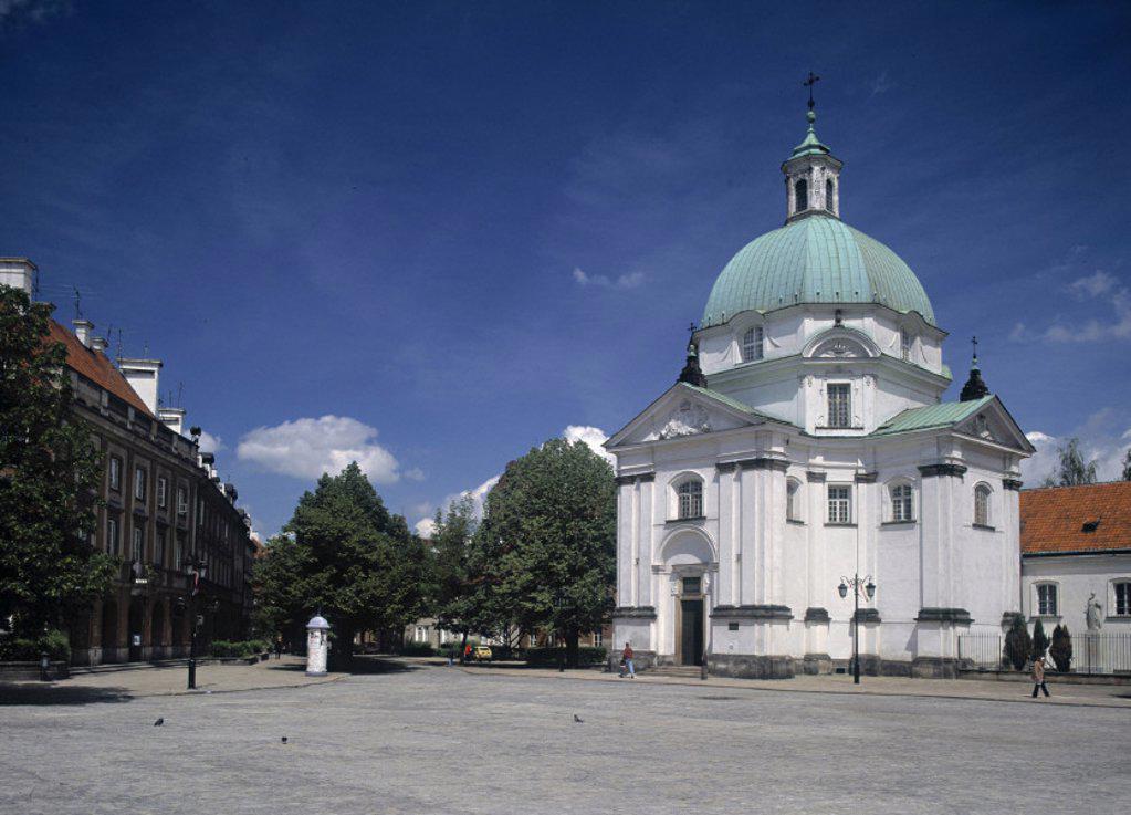 Stock Photo: 1609-8742 New Town Square, Warsaw, Poland