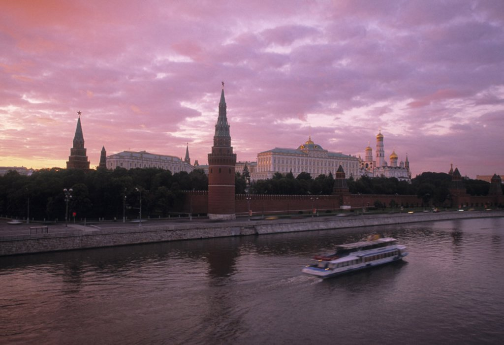Stock Photo: 1609-9128 Kremlin, Moscow, Russia
