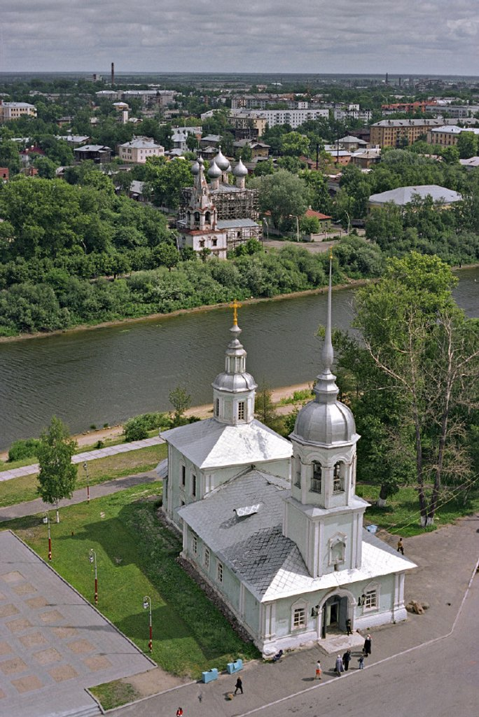 Stock Photo: 1609-9242 Church of St. Alexander Nevskiy, Vologda, NW Federal District, Russia