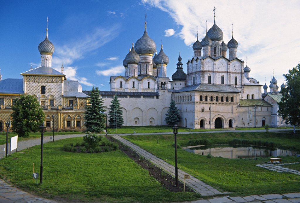 Stock Photo: 1609-9262 Rostov Kremlin, Rostov, Yaroslavl region, Golden Ring, Russia