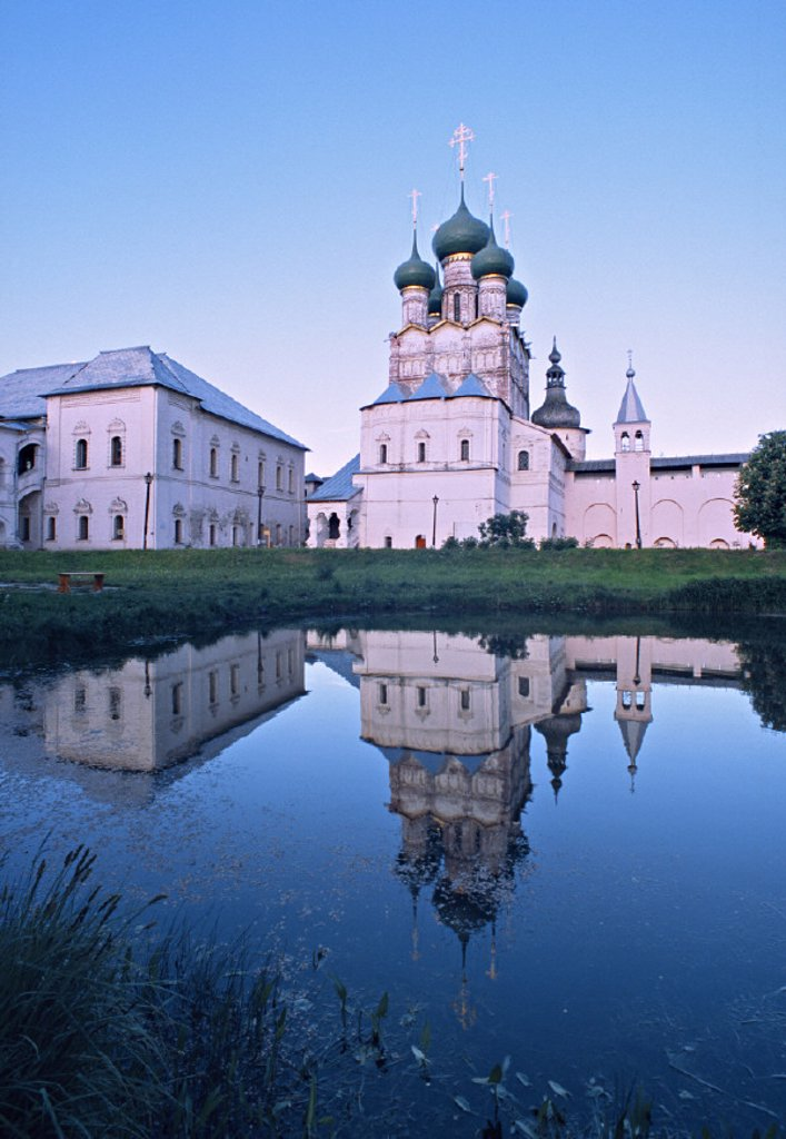 Stock Photo: 1609-9274 Church of St. John Chrysostomos, Rostov Kremlin, Rostov, Yaroslavl region, Golden Ring, Russia