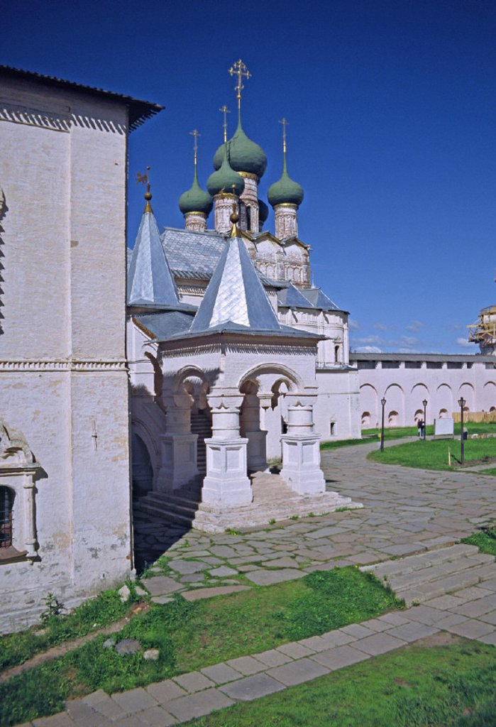 Stock Photo: 1609-9275 Church of St. John Chrysostomos, Rostov Kremlin, Rostov, Yaroslavl region, Golden Ring, Russia