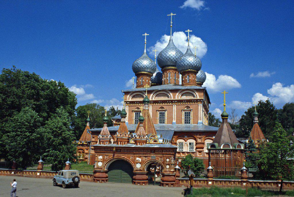 Stock Photo: 1609-9284 Church of the Resurrection ´na Debre´, Kostroma, Central Federal District, Russia. Church of the Resurrection ´na Debre´,  Kostroma, Central Federal District, Russia