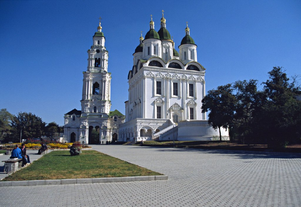 Stock Photo: 1609-9298 Cathedral of the Dormition of Our Lady, Astrakhan, Russia