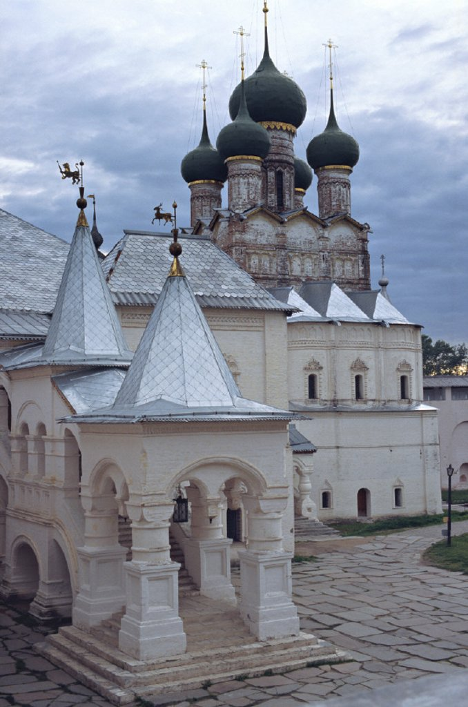 Stock Photo: 1609-9305 Church of St. John Chrysostomos, Kremlin, Rostov, Yaroslavl region, Golden ring, Russia