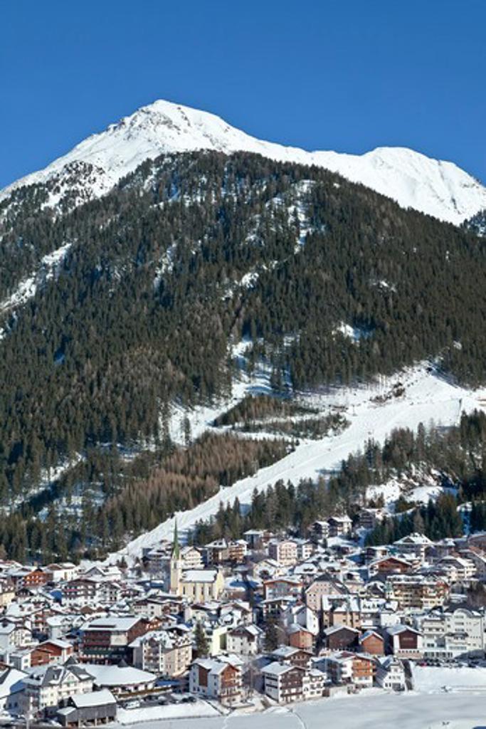 Stock Photo: 1609R-28277 Europe, Austria, Tyrol, Ischgl in winter