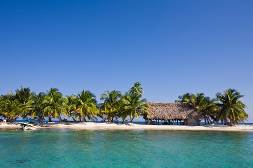 Belize, Laughing Bird Caye : Stock Photo